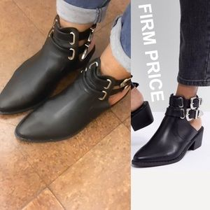 ✅FINAL PRICE✅ Trendy Cut Out Buckle Bootie